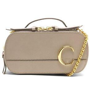 Chloe Shoulder Bag/Handbag/Mini Bag Bag Ladies Chloe C Motti Gray CHC20SS225 A37 23W CHLOE