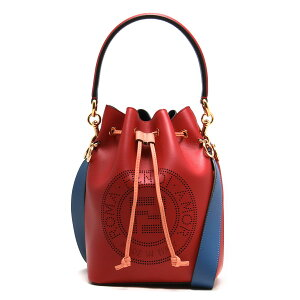 Fendi Shoulder Bag/Handbag Bag Ladies Mont Tresor Small Flagola Red & Aurora Soft 8BT309 A7SQ F0MVV Fall 2019 New FENDI