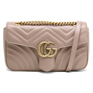 Gucci Shoulder Bag Bag Ladies GG Marmont Porcelain Rose Beige 443497 DTDIT 5729 Spring-Summer 2020 New GUCCI