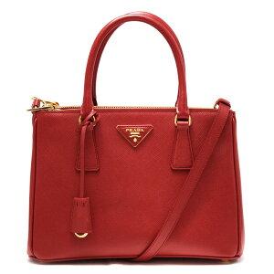 普拉达(Prada)手提袋/单肩包女士Saffiano Lux SAFFIANO LUX三角形徽标牌Forco Red 1BA863 NZV F068Z VOOO PRADA