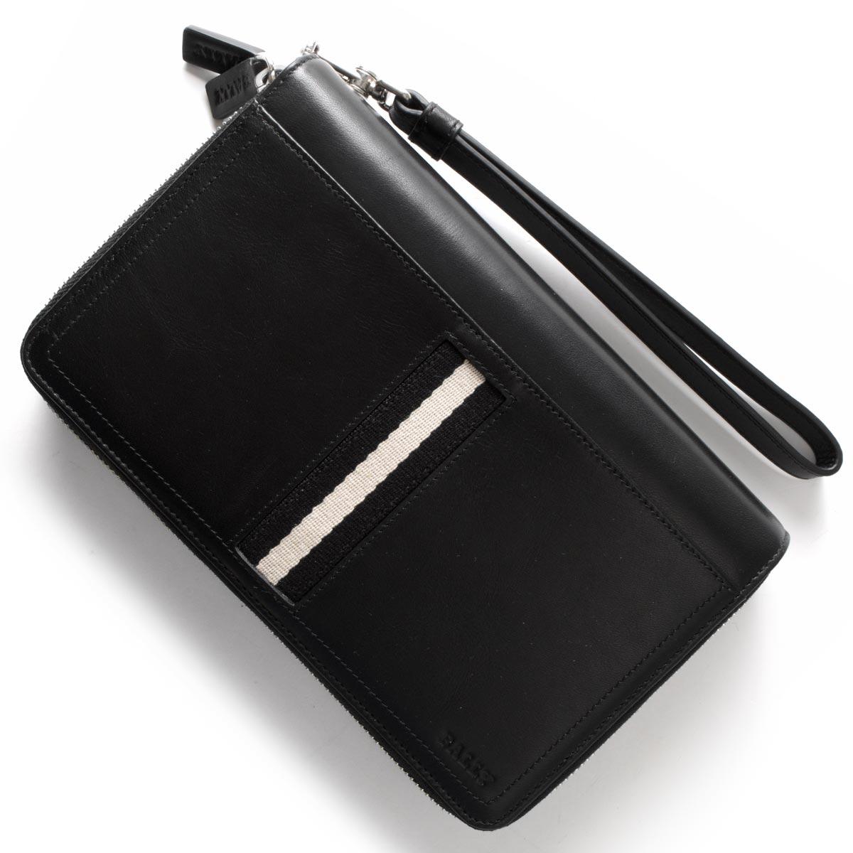 バリー BALLY 長財布/マルチケース TINGER ブラック TINGER 290 メンズ:ブランドショップ ブルーク