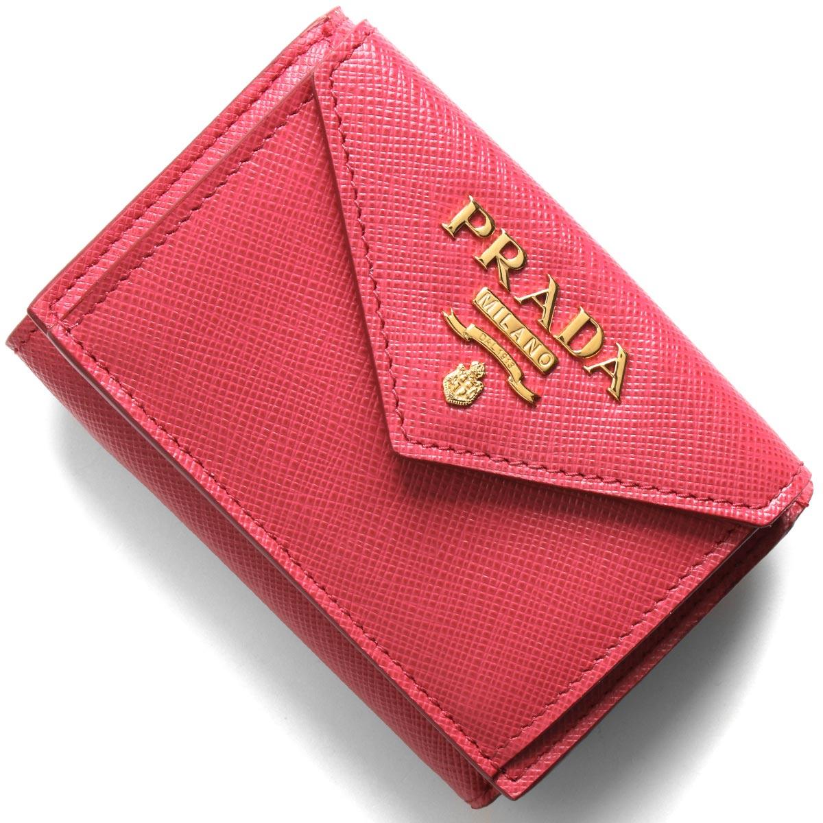 PRADA(プラダ)『サフィアーノレザー財布(1MH021_QWA)』