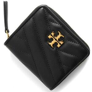 トリーバーチ 二つ折り財布 財布 レディース キラ シェブロン ブラック 56820 001 TORY BURCH