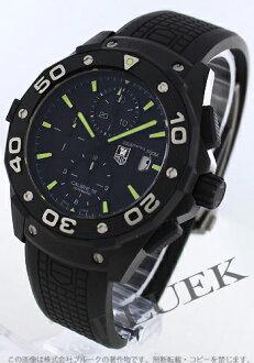 16 タグホイヤーアクアレーサー 500m キャリバー titanium automatic chronograph rebab rack men CAJ2180.FT6023