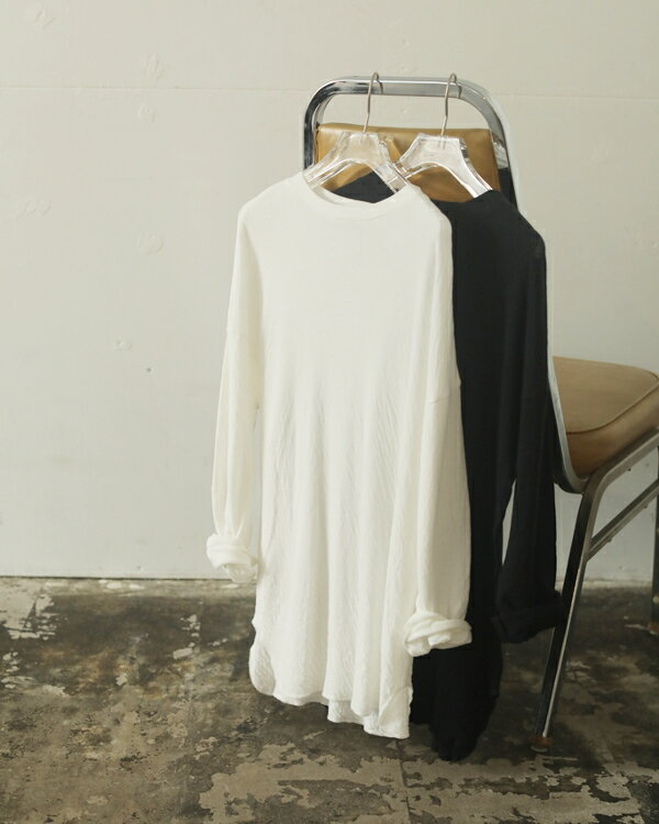 トップス, Tシャツ・カットソー TODAYFUL 20 20 LIFEs Doubleface Slit Long T-Shirts T 120206072020AWOK1212