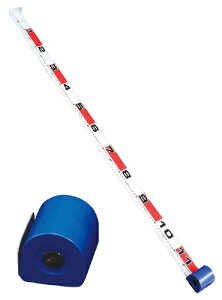 【携行に便利なコンパクトタイプメジャー!】【釣り】TAKA   エスカルゴメジャー V-135【110】