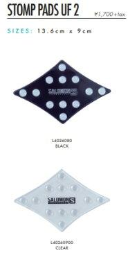 【スノーアクセサリー】SALOMON(サロモン)STOMP PADS UF 2(デッキパット)【750】