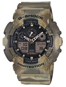 【G-SHOCK腕時計】【送料無料※離島除く】CASIOカモフラージュシリーズGA-100MM-5AJF【142】