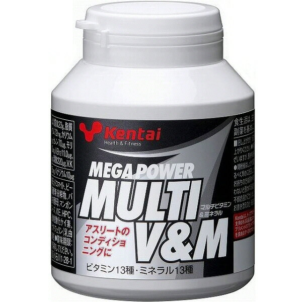 【プロテイン・サプリメント】Kentai(健康体力研究所)メガパワー マルチビタミン&ミネラルK4410【350】