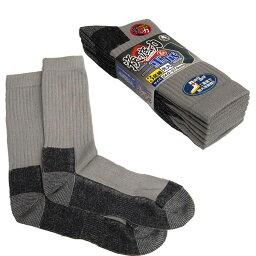 【作業靴・ソックス】炭の底力&二重底 先丸 3足組 8500-FT【410】
