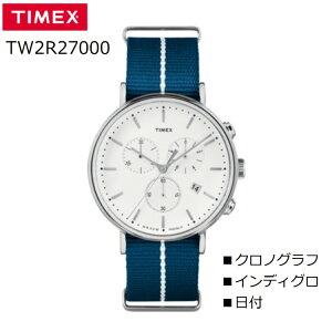 【腕時計】TIMEXウィークエンダーフェアフィールドクロノTW2R27000【142】