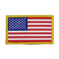 米軍グッズワッペンUSフラッグ星条旗ベルクロ付き