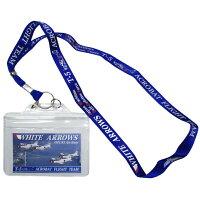 自衛隊グッズ海上自衛隊WHITEARROWS-ホワイトアローズ-ネックストラップパスケース付