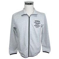 自衛隊グッズドライスウエットジップジャケット空自ウイングマーク刺繍グレー