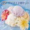 アイスクリーム【送料込】沖縄の「ブルーシールギフトセット12」