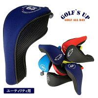 ☆SURF&GOLF`SUP【メッシュタイプヘッドカバー♪】ユーティリティ用ヘッドカバーサーフ&ゴルフズアップ