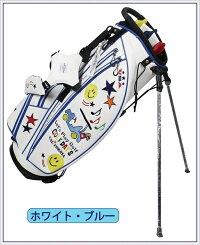 ☆ブルーティーゴルフBLUETEEGOLFCalifornia2018スタンドキャディーバッグ