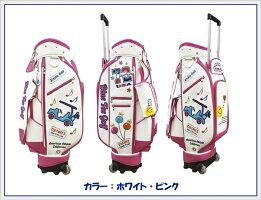 【女性用】ブルーティーゴルフBLUETEEGOLFCaliforniaキャスター付きキャディーバッグ【Tokyo新橋店】