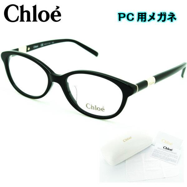 【ブルーライトカットレンズつき】☆クロエ☆ Chloe メガネフレーム CE2678A 001 black