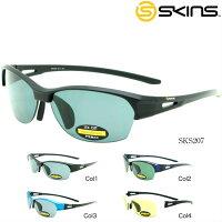 スキンズSKINSサングラスアジアンフィットSKS-207軽量スポーツ
