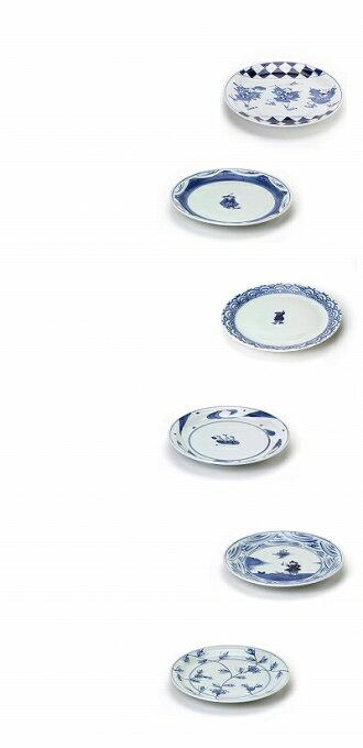 青花9寸ミート皿