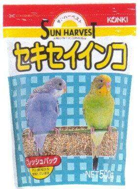 【近喜商事】サンハーベスト セキセイインコ 500gx24個(ケース販売)