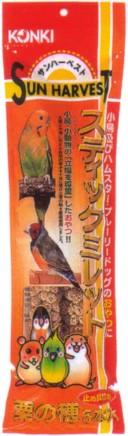 送料込価格【近喜商事】サンハーベスト スティックミレット 5本入x20個(ケース販売)