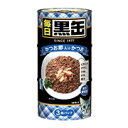 【アイシア】毎日 黒缶 かつお節入りかつお 160gx3Px18個(ケース販売)