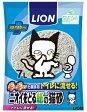 送料込価格【ライオン】ニオイをとる紙の猫砂 7Lx7個(ケース販売)