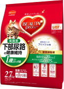 【日本ペットフード】ビューティープロ下部尿路の健康維持低脂肪1歳から2.7kgx4個(ケース販売)