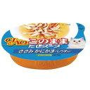 ブルーウッドで買える「【いなばペット】このままだしスープ ささみ かにかま・しらす入り 60g NC−54」の画像です。価格は85円になります。