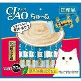 【いなばペット】チャオ ちゅ〜る かつお かつお節ミックス味 14gx20本