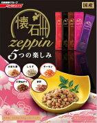 激安特売中【日清ペット】懐石zeppin5つの楽しみ220gx12個(ケース販売)