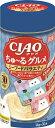 【いなばペット】チャオ ちゅ〜るグルメ シーフードバラエティ 14gx30本