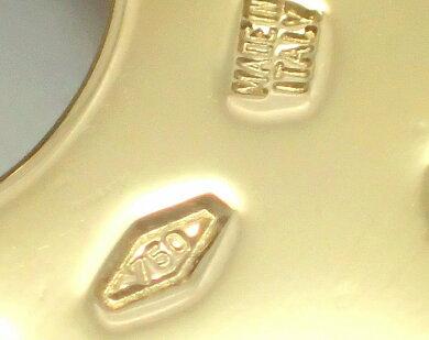 【ジュエリー】【新品仕上げ済】BVLGARIブルガリトンドサンペンダントヘッドペンダントトップコンビダイヤモンドパヴェSS/YG31mmゴールド【】【k】【Blumin店】