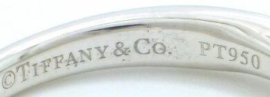 【ジュエリー】【新品仕上げ済】TIFFANY&Co.ティファニーソリテールダイヤリング指輪11号#11ダイヤモンドD0.21ctEカラーVVS2EXCELLENTNONE立爪Pt950プラチナ【】【k】【Blumin店】