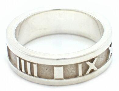 【ジュエリー】TIFFANY&Co.ティファニーアトラスリング指輪11号#11シルバーSV925【中古】【k】【Blumin楽天市場店】