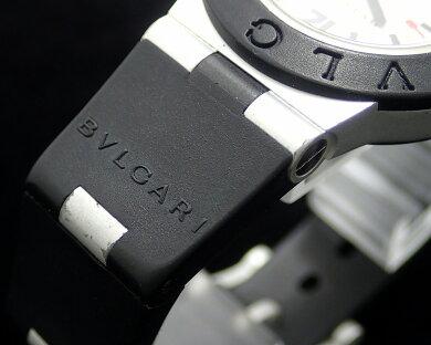 【ウォッチ】BVLGARIブルガリアルミニウム29MMデイトシルバー文字盤レディースQZクォーツ腕時計AL29A【中古】【k】【Blumin楽天市場店】