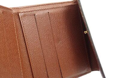 【財布】LOUISVUITTONルイヴィトンモノグラムポルトモネビエカルトクレディダブルホック財布Wホック財布M61652【】【k】【Blumin店】