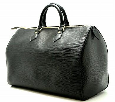 【バッグ】LOUISVUITTONルイヴィトンエピスピーディ35ハンドバッグボストンバッグレザーノワール黒ブラックM42992【】【k】【Blumin店】
