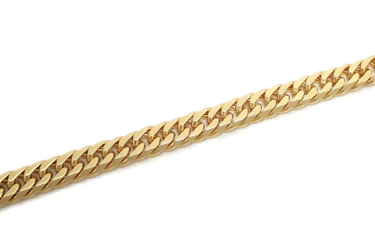 【ジュエリー】KIHEI 喜平 キヘイ ネックレス K18 18金 ゴールド 20.2g 60cm YG 6面W ダブル 日本造幣局検定マーク入り【中古】【u】【Blumin 】:Blumin