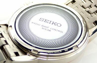 【ウォッチ】SEIKOセイコードルチェデイトホワイト文字盤SSGPピンクゴールドメッキメンズソーラー充電電波時計腕時計7B24-0AL0【中古】【k】【Blumin楽天市場店】