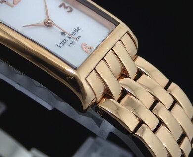 【ウォッチ】katespadeケイトスペードクーパーシェル文字盤ゴールドGPクォーツレディース腕時計1YRU0037【中古】【k】【Blumin楽天市場店】