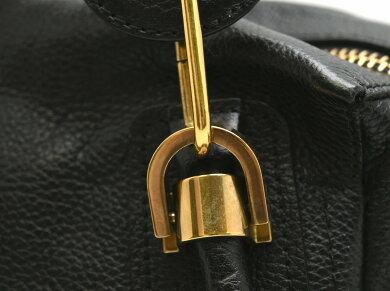 【バッグ】Chloeクロエパラティ2WAYバッグハンドバッグトートバッグショルダーバッグショルダートートレザー黒ブラックゴールド金具3S9933【中古】【k】【Blumin楽天市場店】