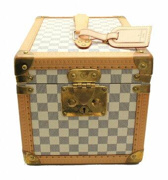 【バッグ】LOUIS VUITTON ルイ ヴィトン ダミエアズール ボワット フラコン 化粧ケース メイクボックス ハードケース N48032 【中古】【k】【Blumin 楽天市場店】