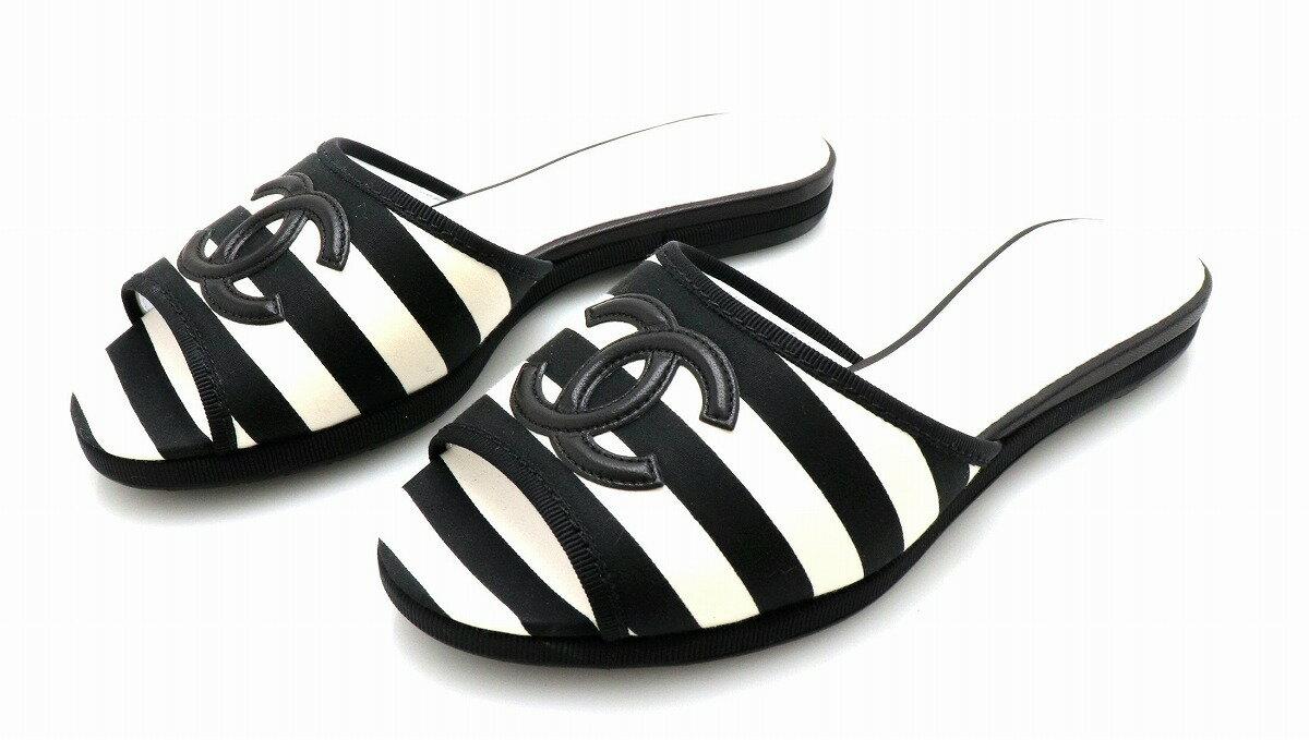 CHANEL 靴 CHANEL 36 22.5cm k