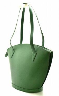 【バッグ】LOUIS VUITTON ルイ ヴィトン エピ サンジャックショッピング ショルダーバッグ トートバッグ セミショルダー 緑 ボルネオグリーン M52264 【中古】【k】