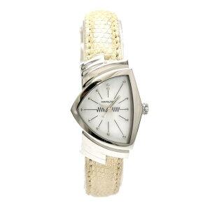 [देखें] हैमिल्टन हैमिल्टन वेंचुरा शैल डायल लेडीज़ QZ क्वार्ट्ज कलाई घड़ी H242111 [प्रयुक्त] K K]
