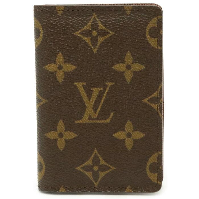 【未使用品】LOUIS VUITTON ルイ ヴィトン モノグラム オーガナイザー ドゥ ポッシュ カードケース 名刺入れ パスケース 定期入れ M61732 【中古】