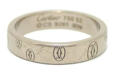 【ジュエリー】Cartier カルティエ ハッピーバースデー ウェディング リング 指輪 12号 #52 K18WG ホワイトゴールド ハッピーバースデイ B4050900 B4050952 【中古】【u】【Blumin 楽天市場店】